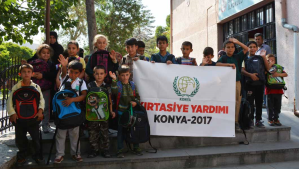 Konya İHH'dan 1200 Öğrenciye Kırtasiye Yardımı