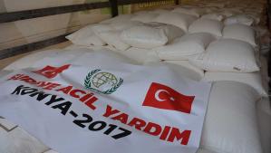 Suriye'ye 50 Ton Un Yardımı